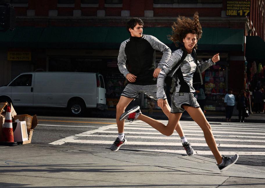 La collection Adidas X Missoni se compose de tenues de sports et de chaussures Ultraboost Clima