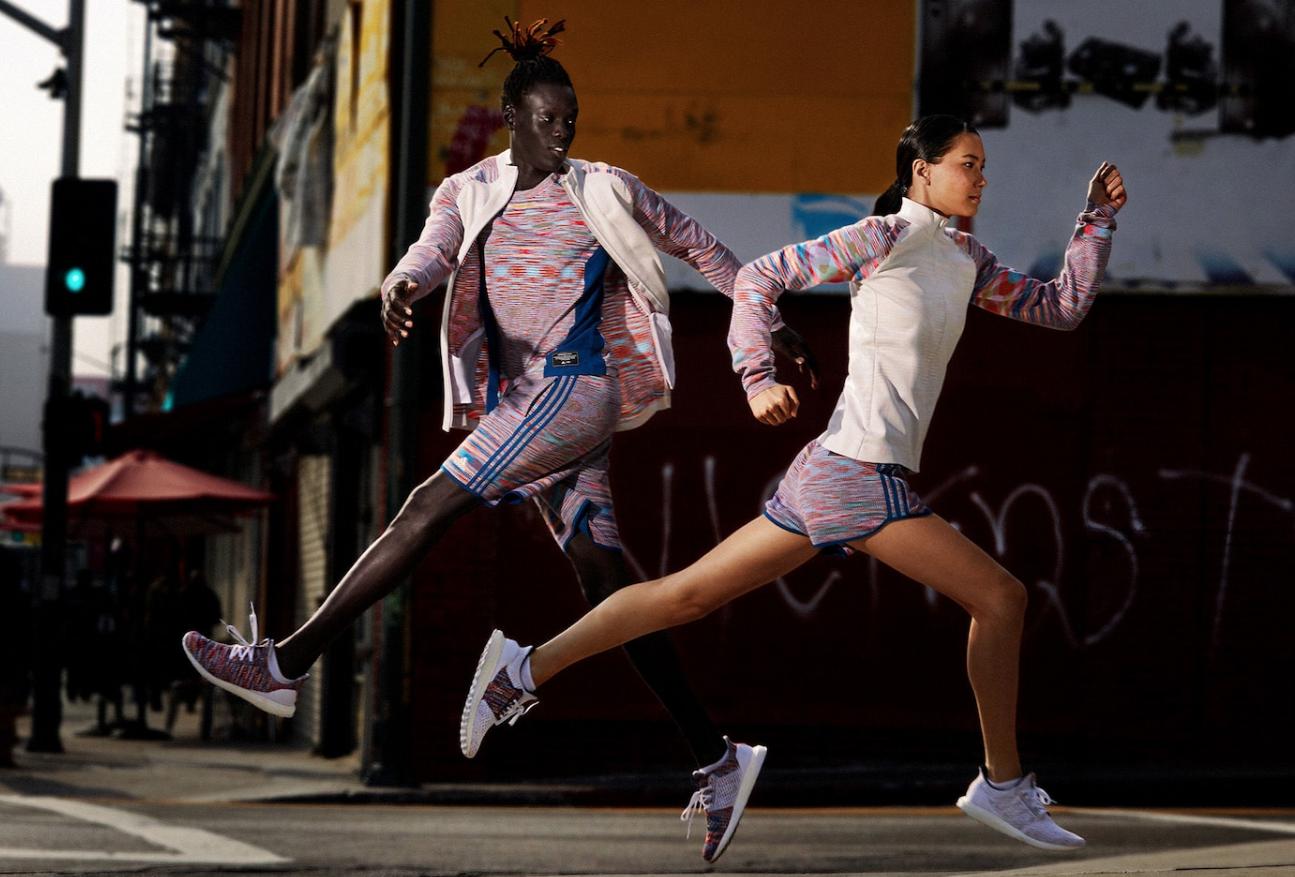 Adidas et Missoni s'associent pour une collection running en édition limitée incluant les chaussures Ultra Boost