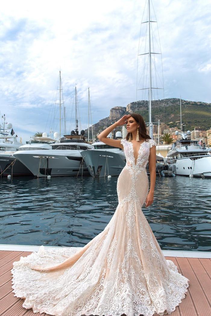 Belle photographie femme robe originale, la plus belle robe de mariee princesse, quelle robe pour mon mariage