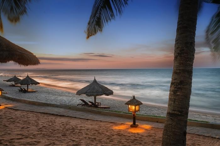 photo paysage exotique sur une île déserte, choisir une photo pour fon decran magnifique, idée photo gratuite ordinateur
