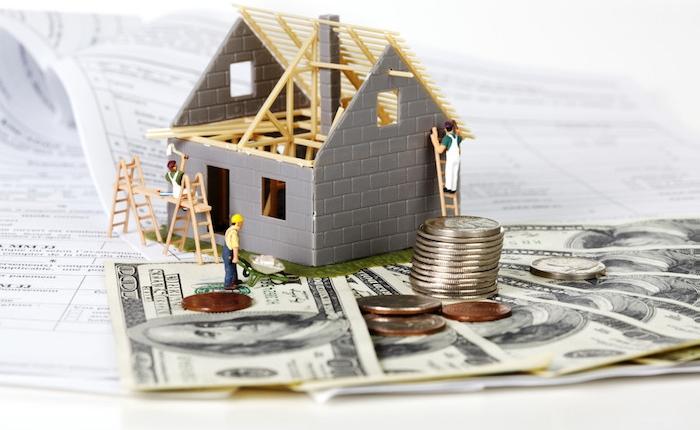 illustration du besoin de financement pour réaliser des travaux d'aménagement ou rénovation