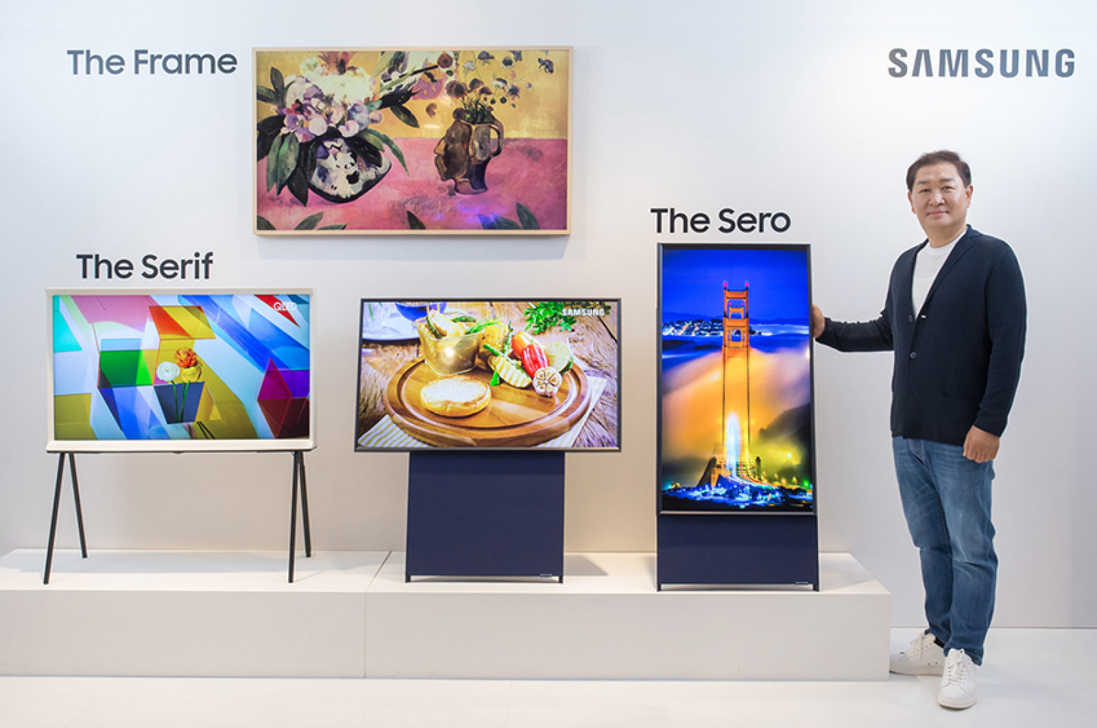 Samsung a dévoilé le nouveau téléviseur The Sero avec rotation verticale à 90 degrés