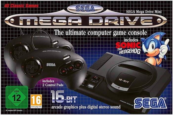 Sega lancera sa nouvelle console MegaDrive Mini, une émulation de sa classique Mega Drive des années 90