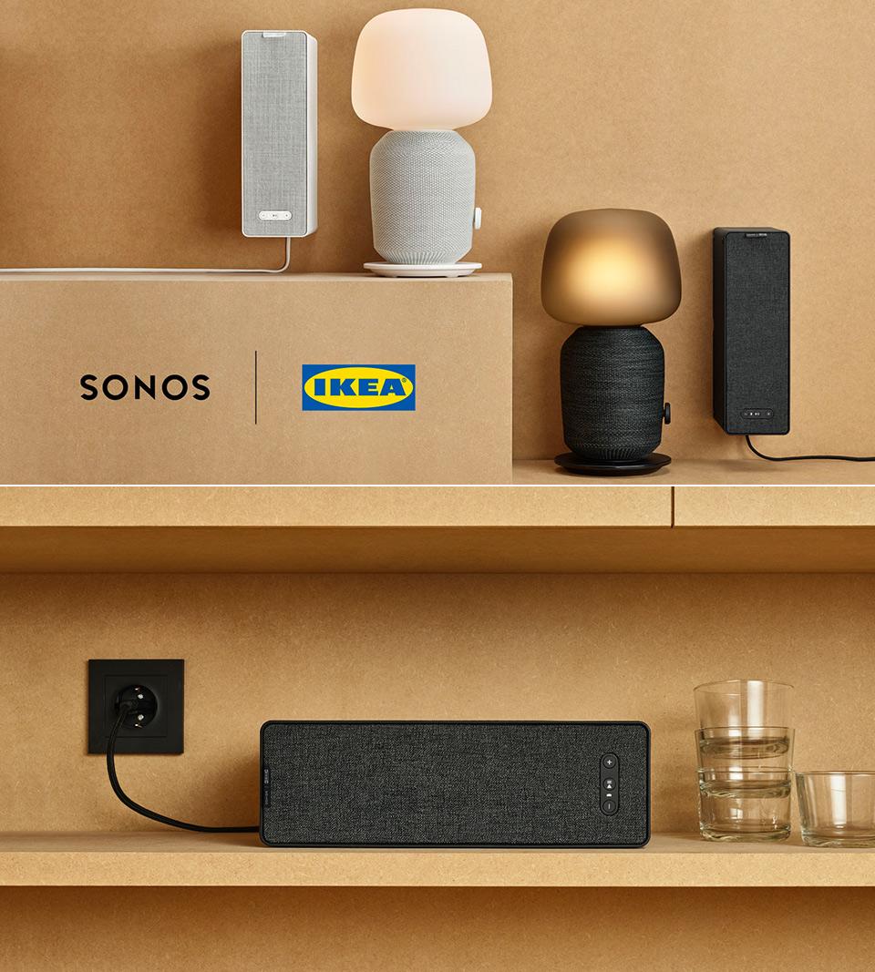 Ikea et le fabricant de systèmes audio Sonos ont développé conjointement la gamme d'enceintes Symfonisk