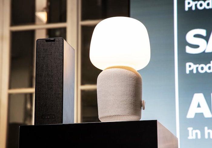 la nouvelle enceinte lampe symfonisk développée par Ikea et Sonos sera vendue à partir d'aout prochain