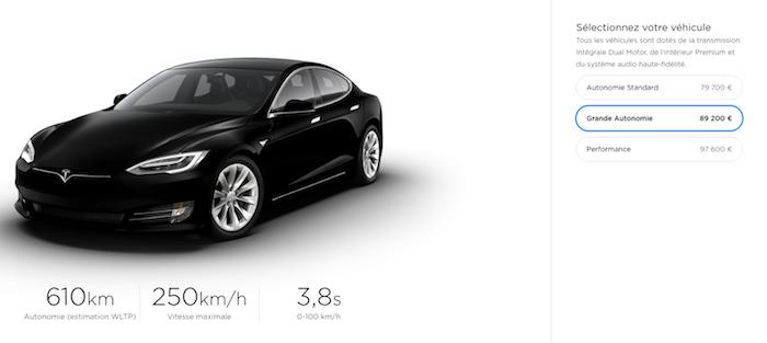 La nouvelle version de Model S et X disposent d'une autonomie atteignant les 610 kilomètres