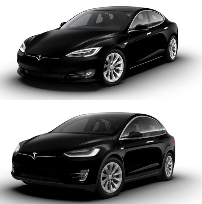 Tesla Model S et Model X dotés désormais en option d'une Grande Autonomie et de suspensions adaptatives améliorées