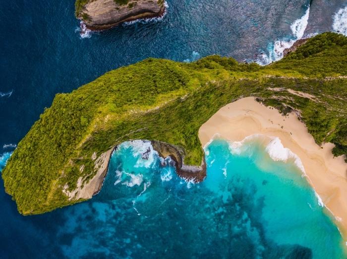 comment prendre de photos magnifiques avec drône, photographie de la nature sauvage, joli fond d écran lieu exotique