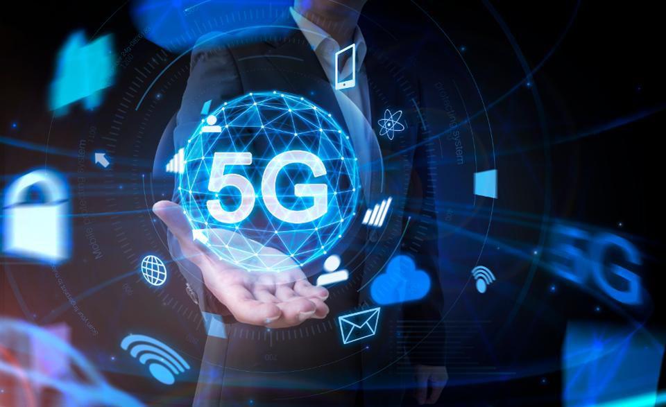 illustration de la technologie 5G à venir, pour laquelle MediaTek vient de développer un nouveau processeur ultra puissant