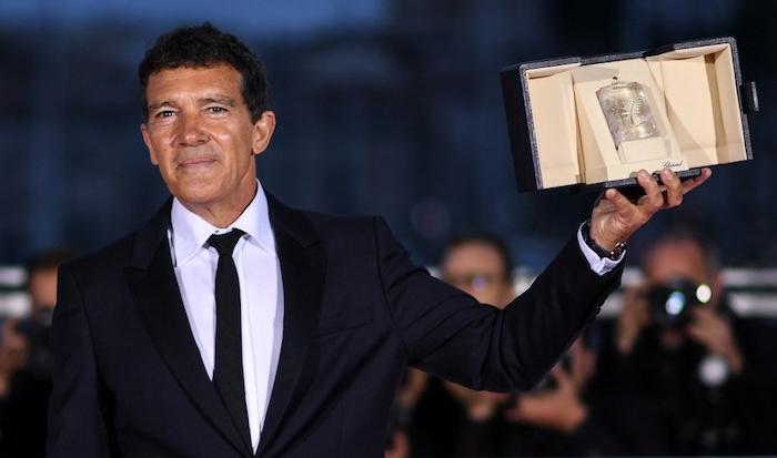 Antonio Banderas a remporté le Prix de la meilleure interprétation masculine pour le film de Pedro Almodovar Douleur et Gloire