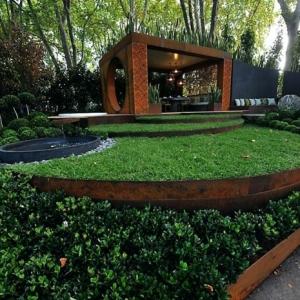 Différents modèles de bordure de jardin - les meilleures idées à essayer