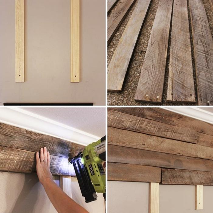 1001 exemples d 39 un mur en palette pour l 39 int rieur ou l. Black Bedroom Furniture Sets. Home Design Ideas