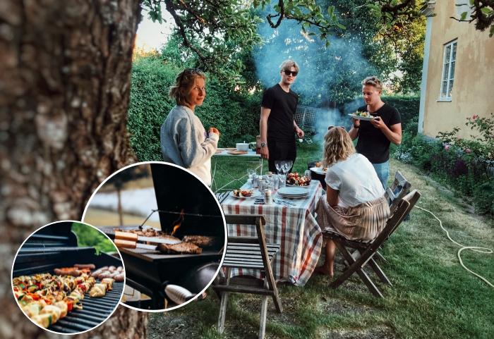 idée repas convivial entre amis, recette facile et rapide pour barbecue, comment faire un barbecue dans son jardin