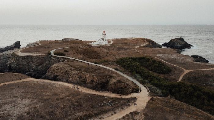 Colin paysage français, paysage magnifique, les plus beaux paysages du monde, phare au colin, beau paysage fond d'écran