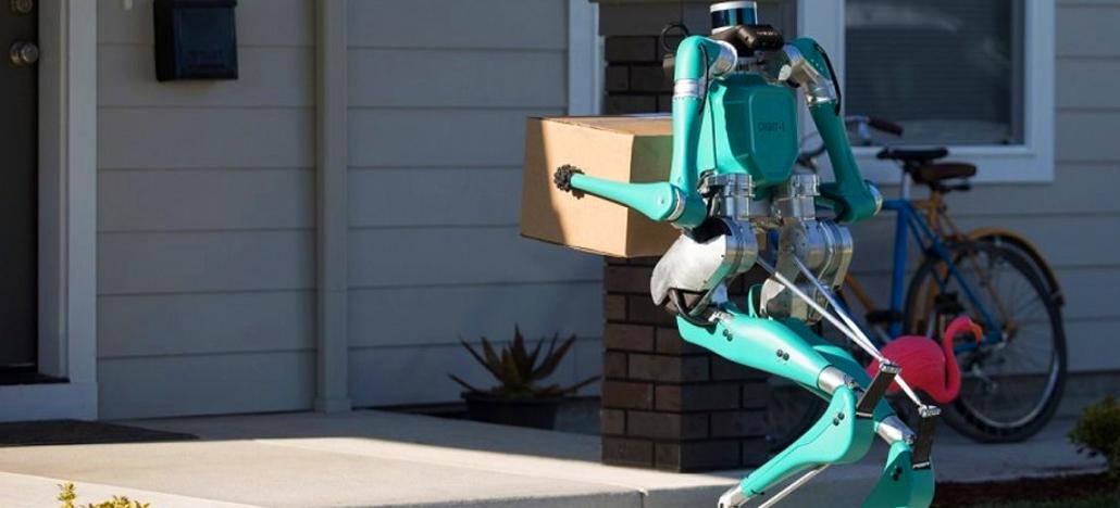 Agility Robotics et Ford présentent Digit, le robot autonome capable de livrer des colis de 20kg à domicile