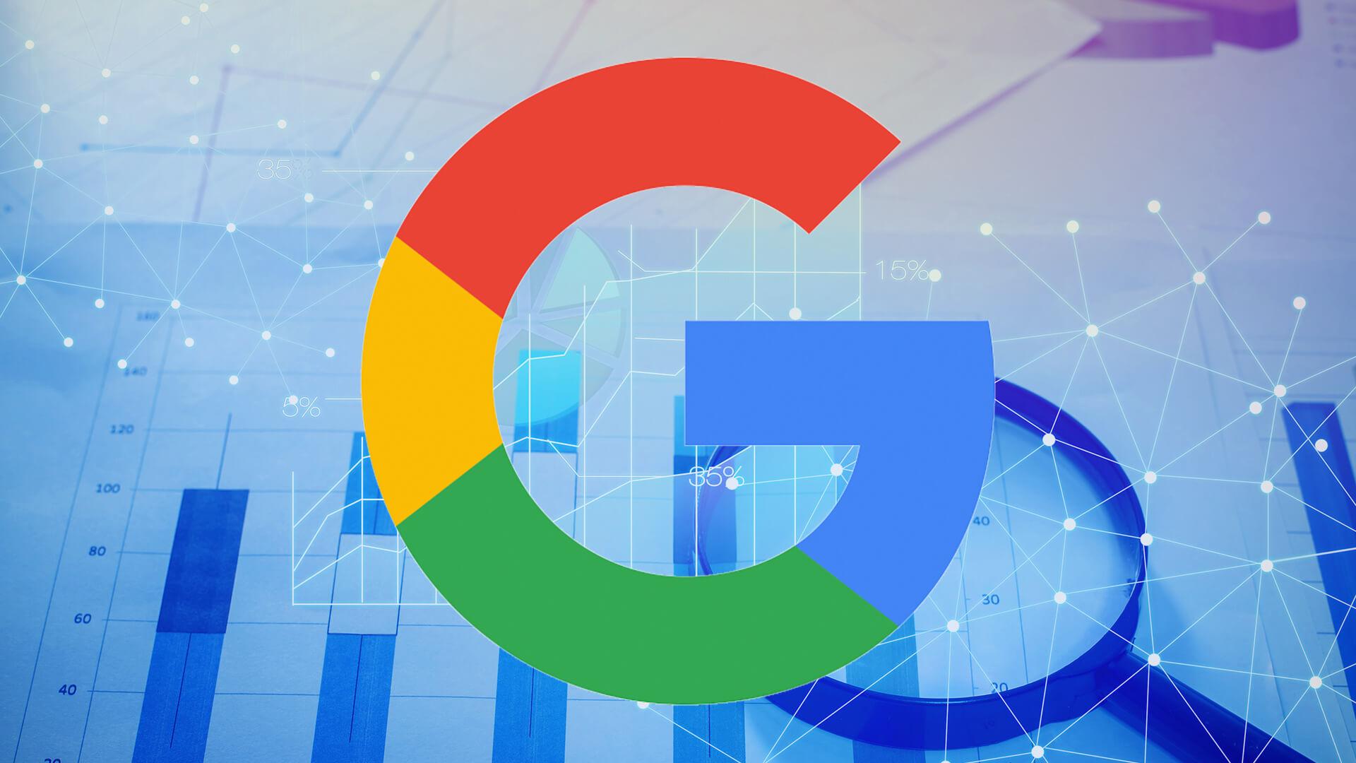 image logo google sur fond de données pour article sur la nouvelle fonction de suppression automatique des historiques d'activité et localisation