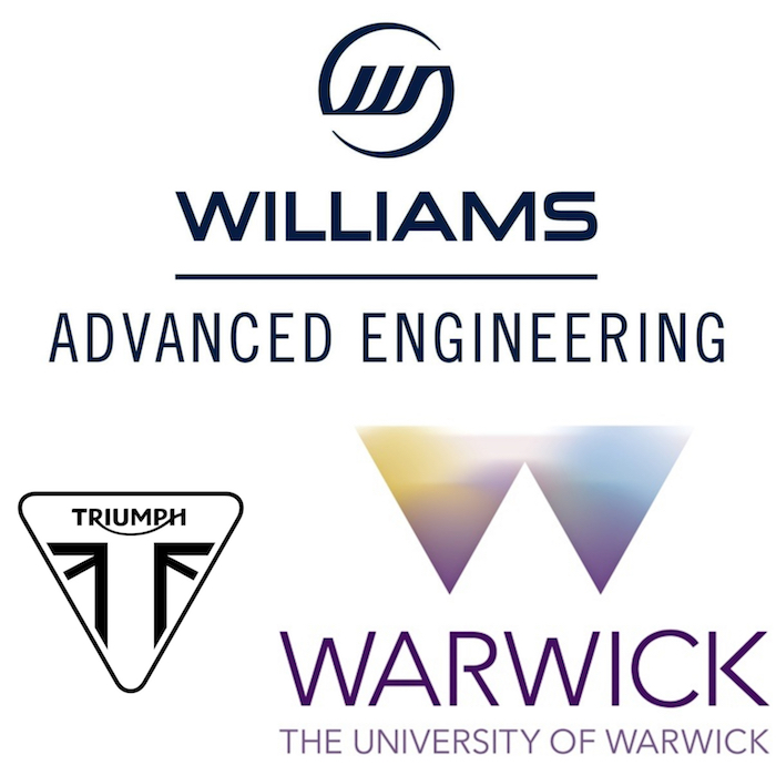 Le projet de moto électrique TE-1 sera le fruit d'une collaboration de Triumph avec Williams Advanced Engineering et l'université de Warwick