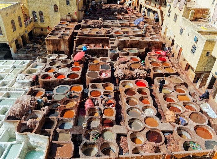 Maroc et ses belles vues, les plus beaux endroits du monde, paysage magnifique coloré fond d'écran ordinateur