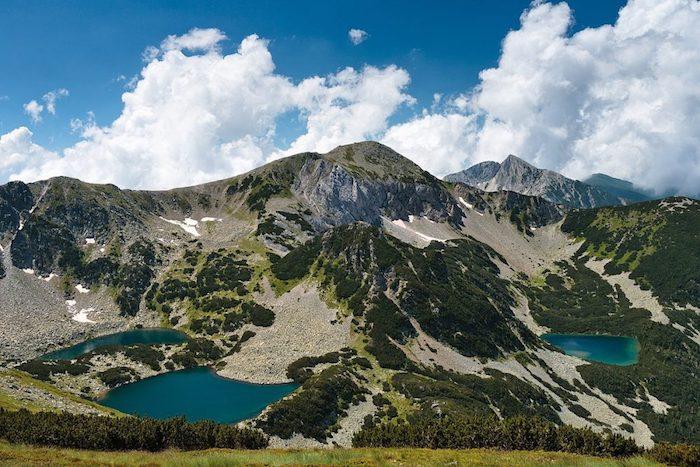 Pirin paysages de montagne, idée paysage campagne pour fond d'écran lac à 2 000 metre hauteur