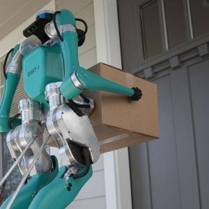 Ford dévoile Digit, son robot-livreur autonome