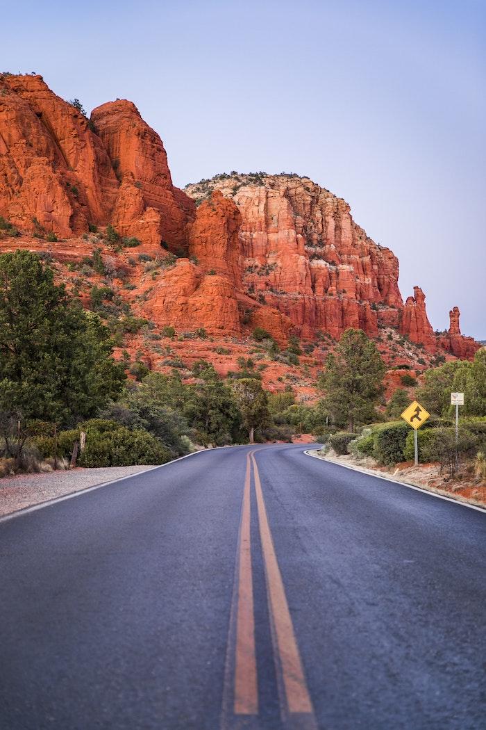 Amérique autoroute de forest gump paysage, fond d'écran original paysage image à choisir pour fond d'ecran