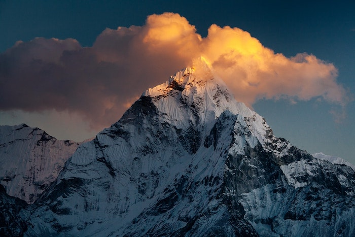 Le sommet le plus haut en europe, les plus belles photos du monde, paysages de montagne enneigé