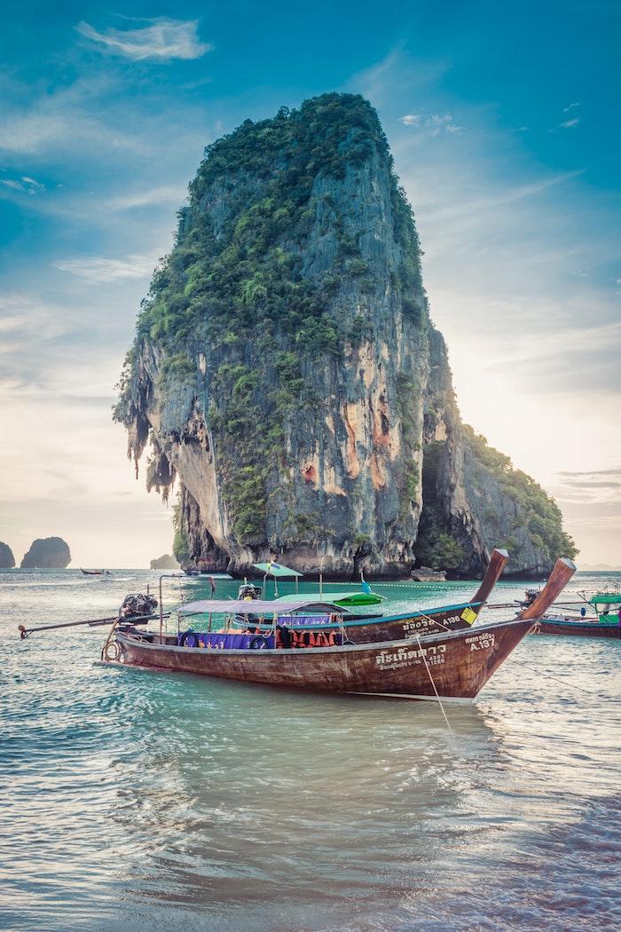 Thailand le plus beau pays du monde, paysage magnifique, s'étonner de la beauté de la terre