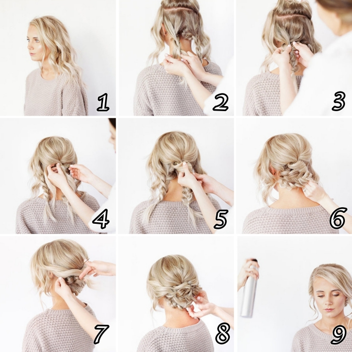 Tuto Coiffure Facile Hair Styles Tuto Coiffure Cheveux