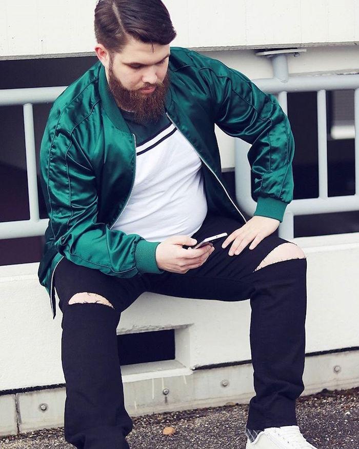 le vêtement grande taille mode et tendance pour homme est parfois une perle rare