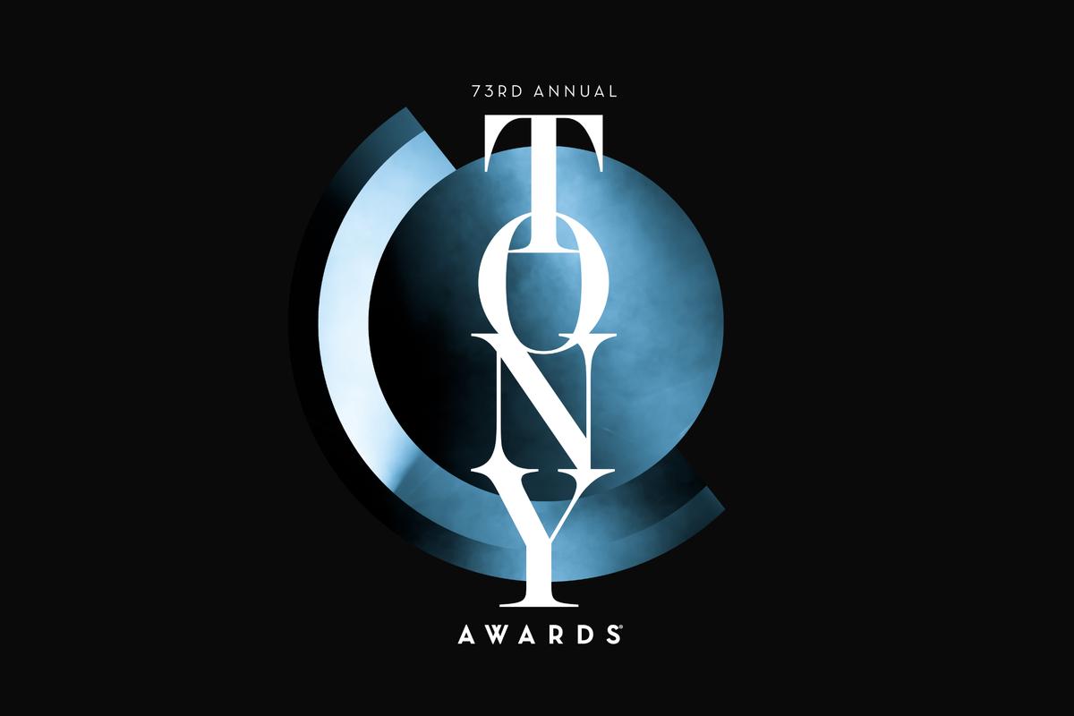 logo des Tony Awards qui ont tenu leur 73e cérémonie des récompenses de théâtre et comédie musicale de Broadway