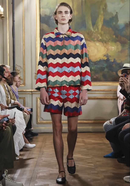 Bode, La marque de vêtements de luxe pour homme basée à NYC, a défilé pour la première fois à paris lors de la Fashion Week masculine SS19