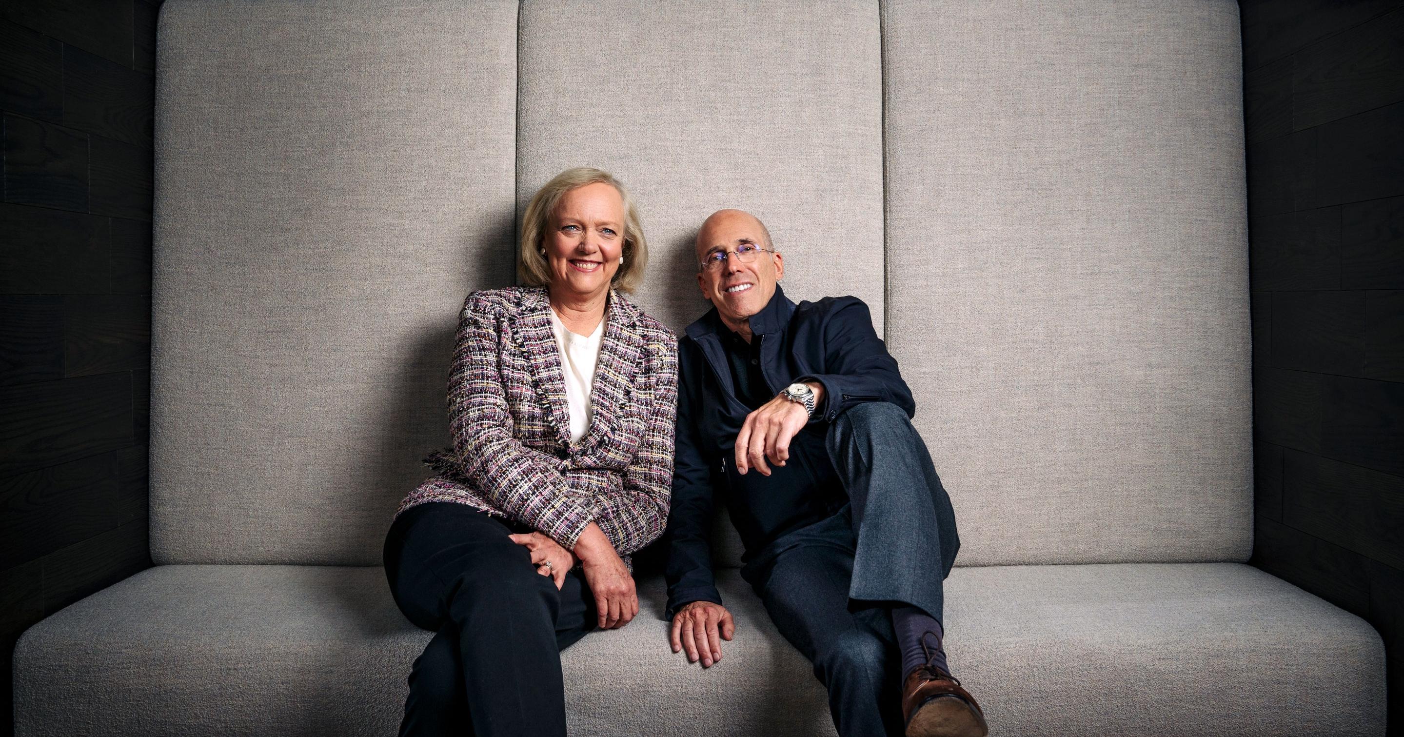Meg Whitman et Jeffrey Katzenberg, créateurs de Quibi, veulent révolutionner la diffusion et créer une troisième génération de narration cinématographique