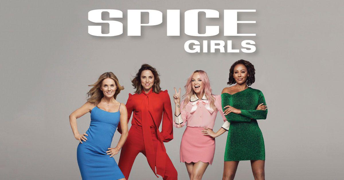 Photo des Spice Girls qui se réunissent le temps d'une tournée au printemps 2019, suivie d'un long métrage d'animation en 2020 chez la Paramount