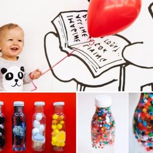 Fabriquer une bouteille sensorielle pour émerveiller petits et grands