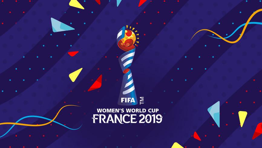 fond d écran logo Coupe du monde féminine 2019 qui se déroule en France du 7 juin au 7 juillet