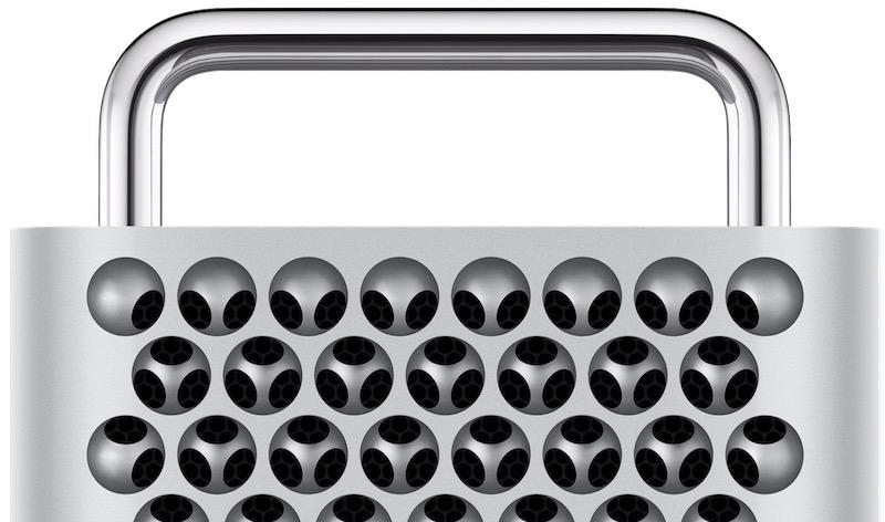 Le Mac Pro 2019 d'Apple est doté d'un design de râpe à fromage, afin d'assurer une ventilation suffisante à la puissance offerte par un processeur à 28 coeurs