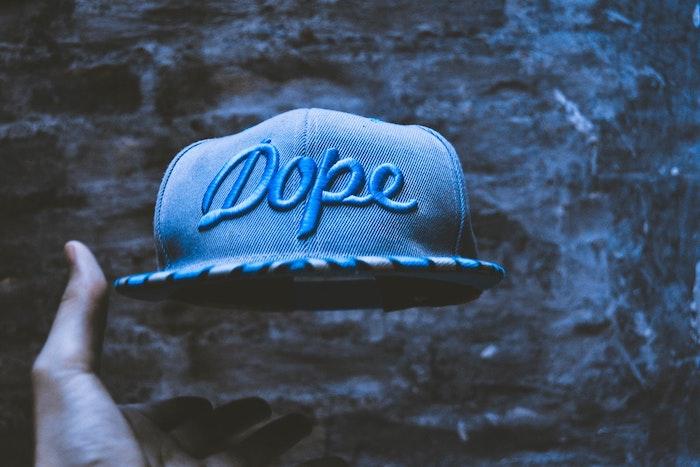 Chapeau dope photo swag, image de fond d'écran swag, originale photo en couleurs sombres
