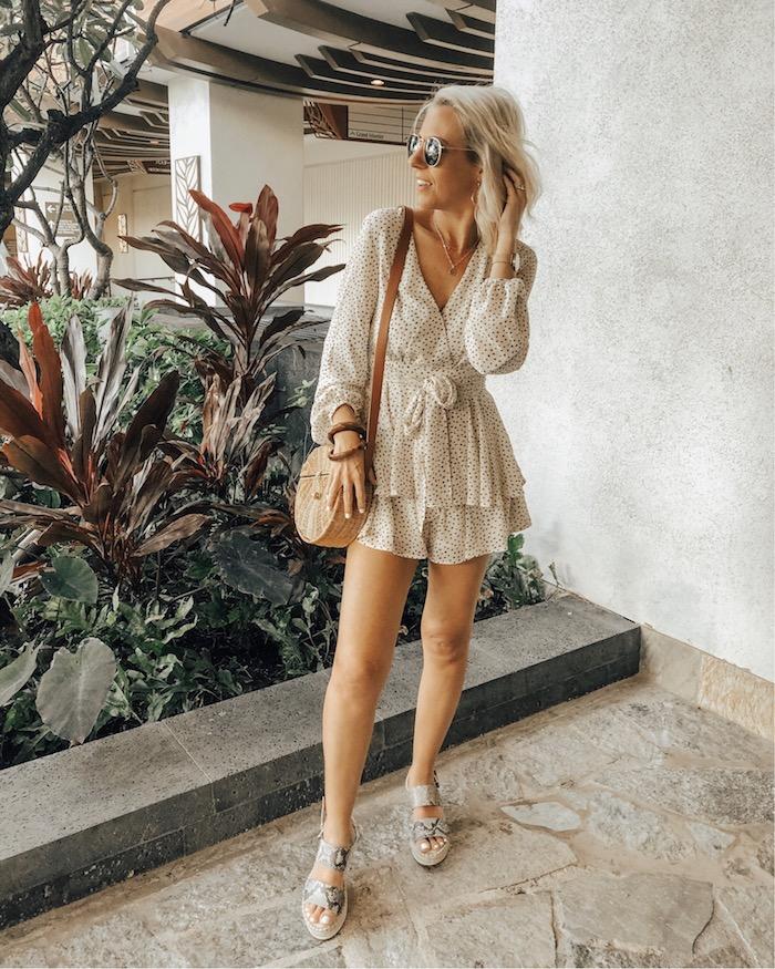 Tendance été 2019, bohème chic robe fluide, tenue classe femme, inspiration en image, vacances tenue