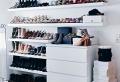 Aménager un dressing à chaussures pratique et esthétique