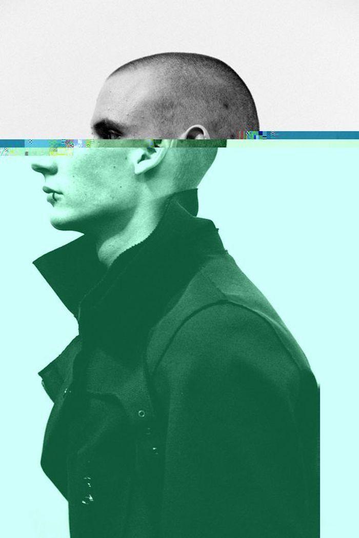 Homme swag, les plus belles images du monde, personne en deux, cool idée collage à faire, photographie moderne