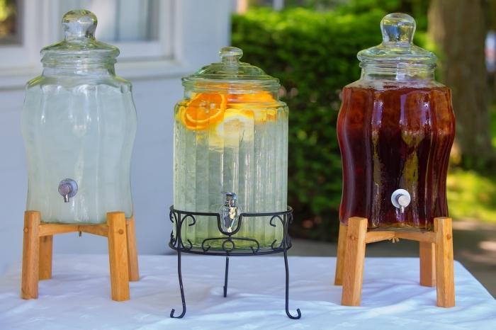 quel type de thé utiliser pour préparer un thé glacé, idée ice tea maison facile, exemple comment servir un thé glacé