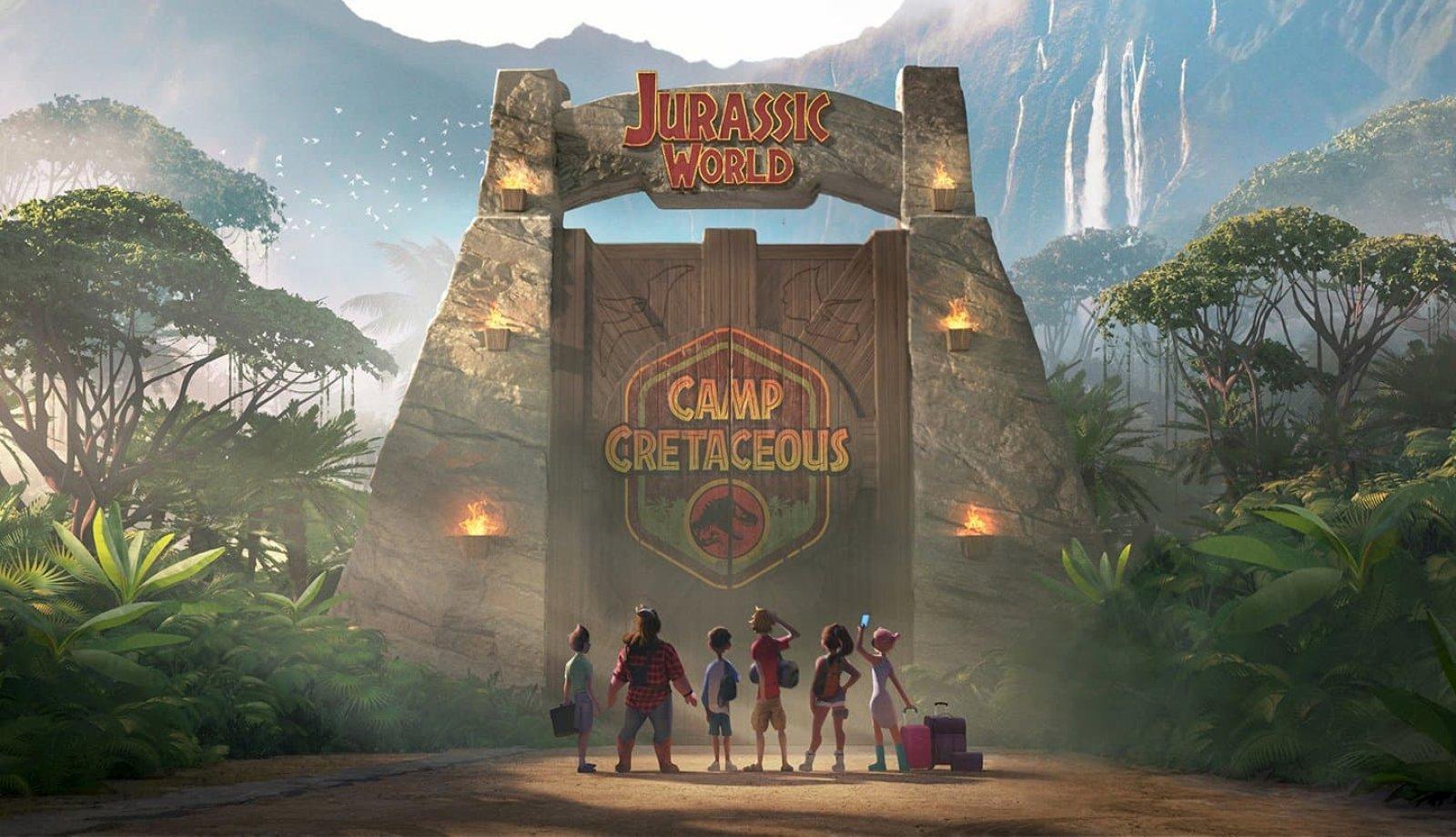 Première image de Jurassic World Camp Cretaceous, la nouvelle série d'animation à venir en 2020 sur Netflix