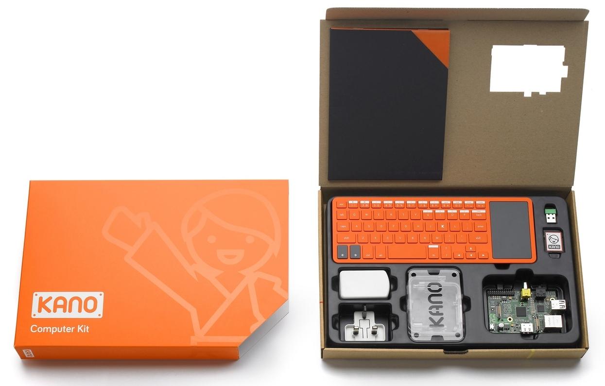 Kano computer a été lancée en 2013 avec Kickstarter et collabore désormais avec Microsoft pour un projet de PC en kit pour enfants sous Windows 10S