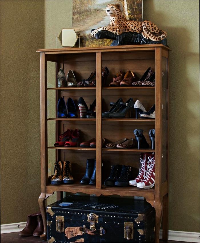 meuble a chaussure vintage