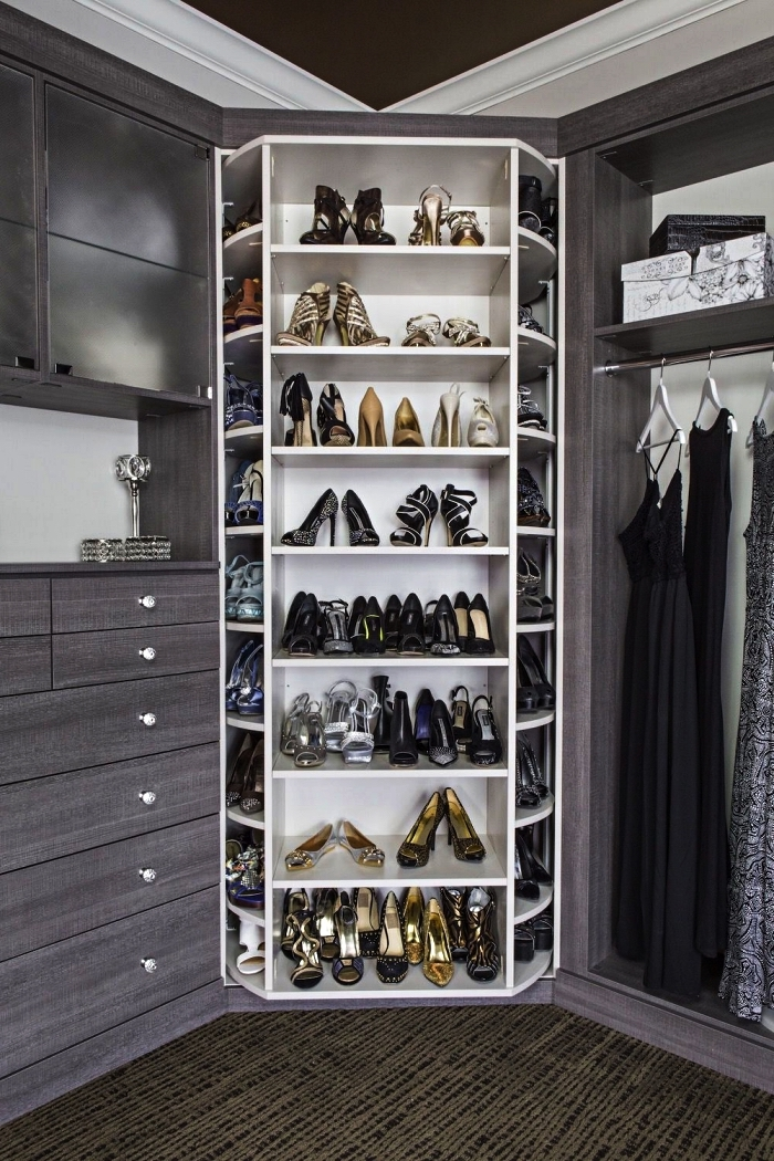 1001 Idees Pour Amenager Un Dressing A Chaussures