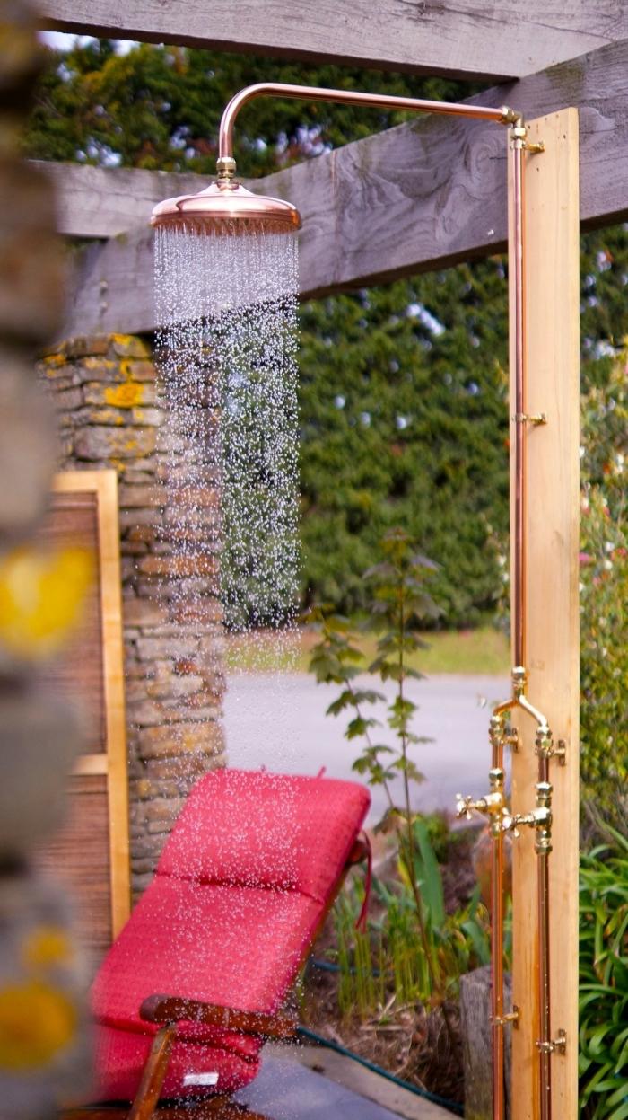 1001 Idees Pour L Installation D Une Douche Exterieure