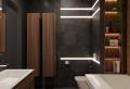 95 idées pour la déco d'une salle de bain en noir et bois élégante et moderne