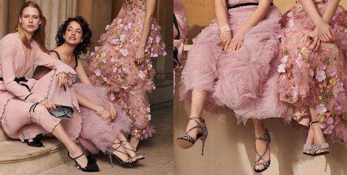Robe de cocktail longue rose pale, trois options de tenue robe longue, tendance robe bohème chic mariage