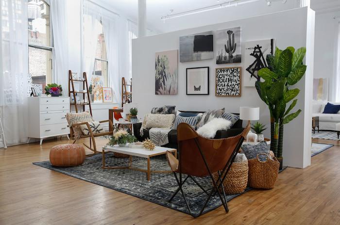 Idée comment aménager son salon, coussin berbere, deco boheme chic style maroc, idée amenagement
