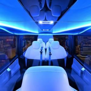 Uber a présenté son prototype de taxi volant
